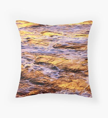 Froth & Bubble Throw Pillow