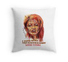 Were Cyndi Throw Pillow