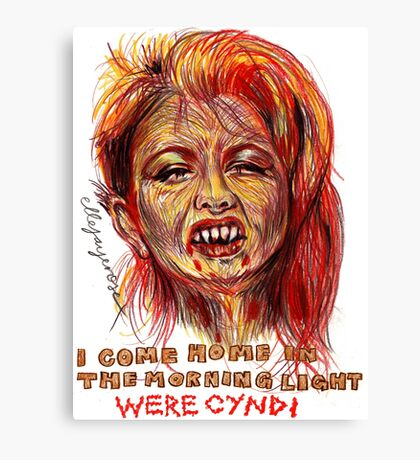 Were Cyndi Canvas Print