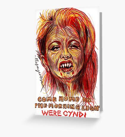 Were Cyndi Greeting Card