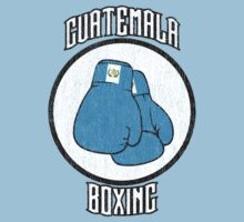 Guatemala Boxing T-Shirt