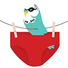 budgie smuggler by creativemonsoon