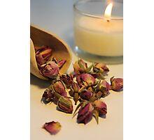 Rose Tea Photographic Print