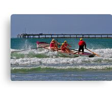 Williamstown at Vic Masters, Lorne, 2011 Canvas Print
