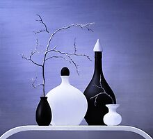Stillife with vases by karrr