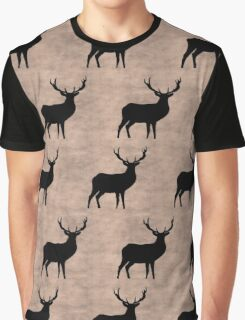 Deer beige Graphic T-Shirt