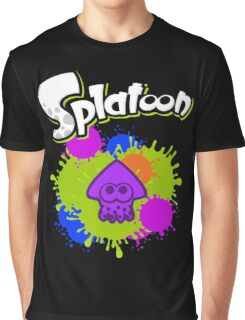 Splatoon Squid - Deep Purple  Graphic T-Shirt