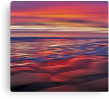 Mulberry Beach Canvas Print