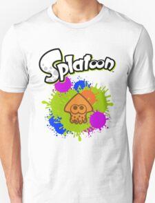 Splatoon Squid - Colour Orange T-Shirt