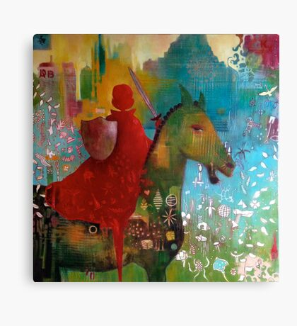 Dangerous Betty goes to Pony Club Canvas Print