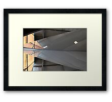 Her Beautiful Bow Framed Print
