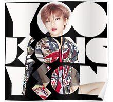 TWICE 'Yoo Jeong-yeon' Typography Poster