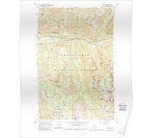 USGS Topo Map Washington State WA Scenic 243594 1965 24000 Poster