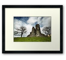 The Meeting Framed Print