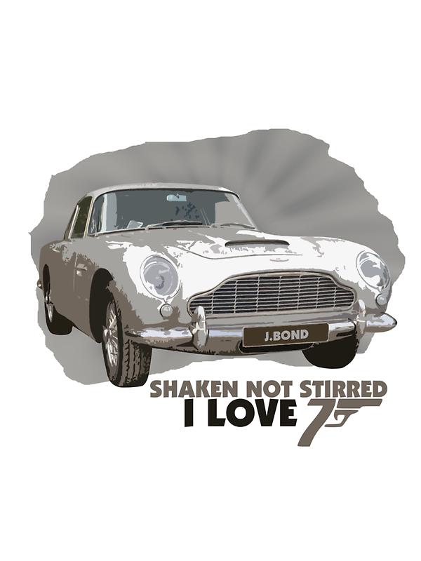I Love James Bond by noeljerke