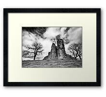 The Meeting BW Framed Print