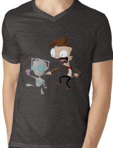 CyberGIR & Doctor Dib Mens V-Neck T-Shirt
