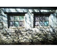 The Witches Window under the Cold Fingers of Shadows Photographic Print