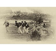 Troopers Five Photographic Print