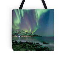 Aurora Borealis at Tromvik Tote Bag