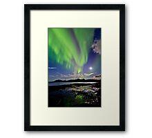 Auroras at Hillesøy Framed Print