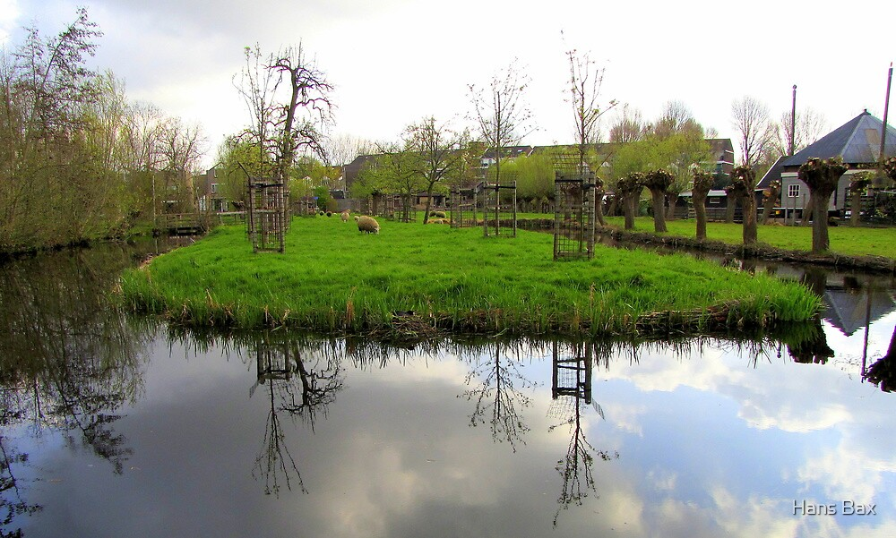 Spring Reflected 04'12 by Hans Bax