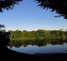 Framed - Lake Pickens, Sherman, Texas USA by aprilann