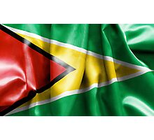 Guyana Flag Photographic Print