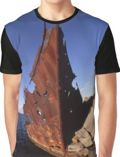 """The Wreck Of The """"Adolphe"""", Newcastle, Australia 2008 Graphic T-Shirt"""