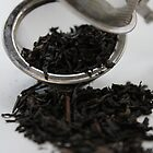 Black Tea in Strainer by AHakir
