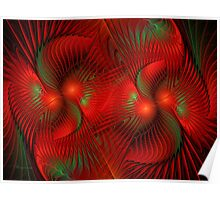 Bird Of Paradise Abstract Poster