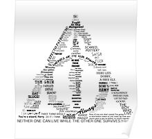 You're a wizard, Harry - Deathly Hallows Version Poster