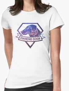Diamond  universe Womens Fitted T-Shirt
