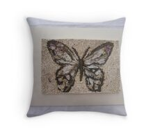 BUTTERFLY ~ 1 OUTDOOR FRAME Throw Pillow
