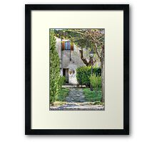 A European Welcome Framed Print