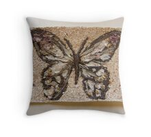 BUTTERFLY ~ 4 FREEDOM Throw Pillow