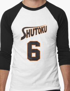 Kuroko No Basket Shutoku 6 Midorima Jersey Anime Cosplay Japan T Shirt Men's Baseball ¾ T-Shirt