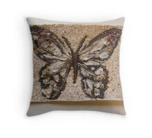 BUTTERFLY ~ 5 FLAME Throw Pillow