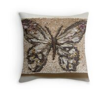 BUTTERFLY ~ 6 FREE' Throw Pillow