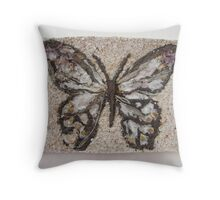 BUTTERFLY ~ 8 FLY Throw Pillow