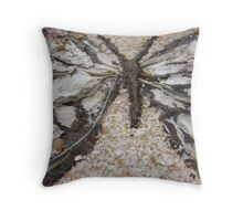 BUTTERFLY ~ 12 SETTLED Throw Pillow