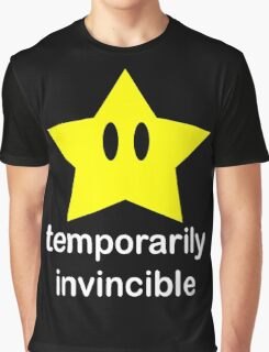 Temporarily Invincible Graphic T-Shirt