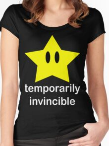 Temporarily Invincible Women's Fitted Scoop T-Shirt