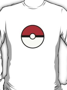 Pokemon - Pokeball WHITE RED T-Shirt