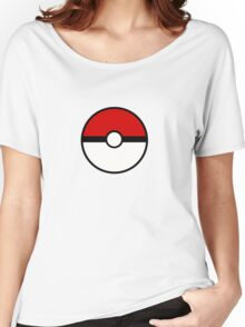 Pokemon - Pokeball WHITE RED Women's Relaxed Fit T-Shirt