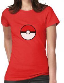 Pokemon - Pokeball WHITE RED Womens Fitted T-Shirt