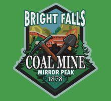 Bright Falls Coal Mine Kids Tee