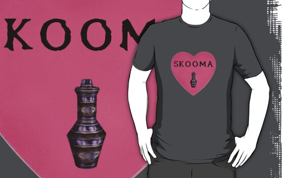 I Love Skooma by Sam Stringer