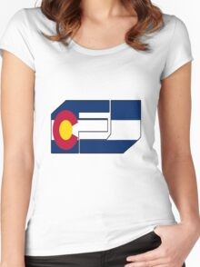 fj colorado  Women's Fitted Scoop T-Shirt