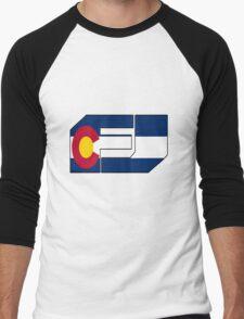 fj colorado  Men's Baseball ¾ T-Shirt